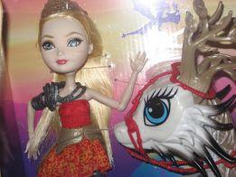 Кукла Эвер Афтер Хай Эппл Вайт Ever After High Apple White Dragon Game