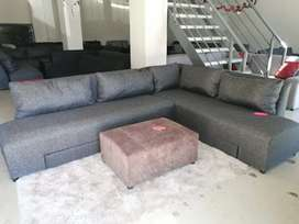 Brand new convertible corner couches for sale at the factory for R4999