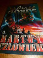 """Książka """"Martwy człowiek""""Joe Gores"""