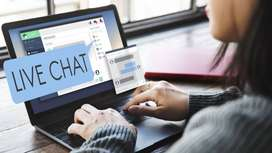 Get an agent to take LiveChats on your website!
