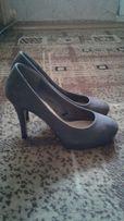 Туфли замшевые 39