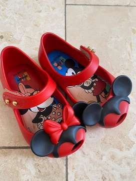 Mini Melissa Minnie Mouse Shoes