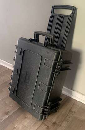 Pelican Wheelie Case with Foam, made in the USA