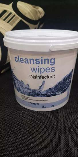 Cleaning alcohol wipes