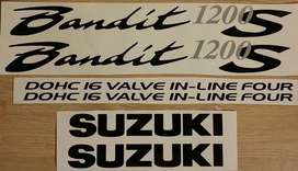 2001 Suzuki Bandit 1200S stickers decals kits