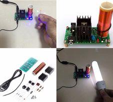 15 W mini cewka TESLA głośnik plazmowy, generator tesli, zestaw DIY