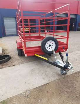 Selling double axel trailer R 60 000