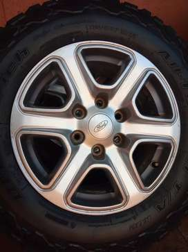 Ford Ranger Tyres and Mags ( Rims)