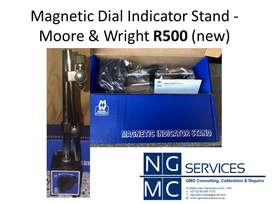 Moore & Wright Magnetic Dial Indicator Stand (new)