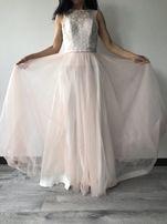 Нежное выпускное платье
