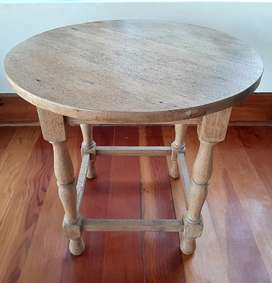 Oak round tables for sale