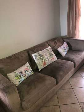 Fridge and 3 Seater Couch for sale