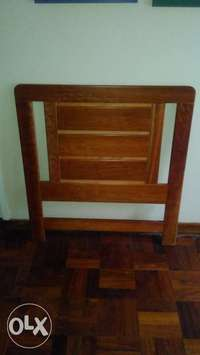 Image of Solid Cherrywood single bed headset