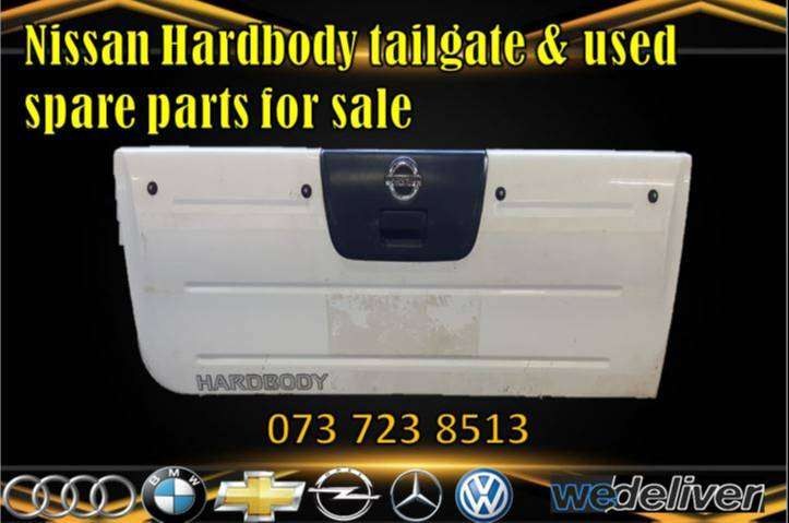 Nissan Hardbody tailgate & used spare parts for sale 0
