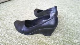 Туфли кожаные черные, мягкие, удобная колодка