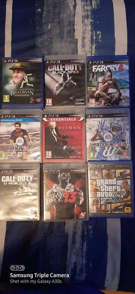 Ps3 game + consal