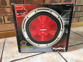 Sony Explod 12'' subwoofers (pair)