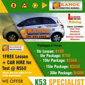 Affordable driving and learner's lessons