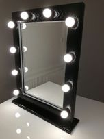 Lustro do makijażu wizażu led toaletka HOLLYWOOD make up