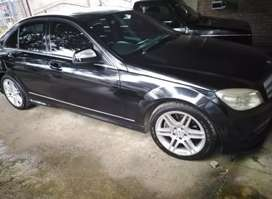 C200 W204 with a factory fitted AMG kit
