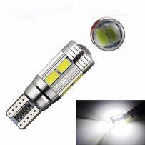 Габаритные огни T10 LED лампа линза светодиодная Дневные ходовые огни