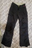 Лыжные штаны женские. На рост 170, худого телосложения.