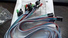 ПК кабель Питания SW переключатель с индикатором для 1070-1060-1080ti
