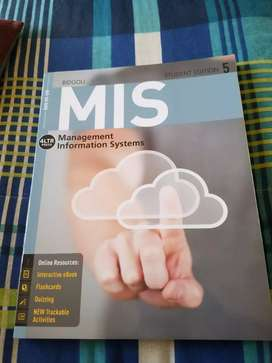 MIS5 MANAGEMENT INFORMATION SYSTEMS