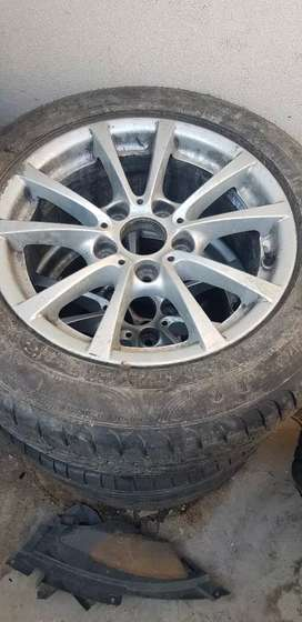 Bmw f30 rims and tyres