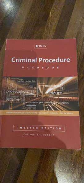 12th Ed - Criminal Procedure Handbook - Joubert