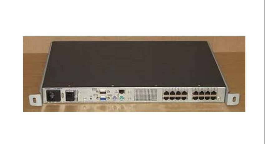 HP Series 16 Port KVM Over IP Console Switch 3x1x16 0