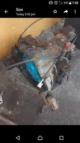 Toyota 4a automatic gearbox