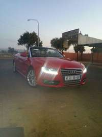 Image of AUDI A5 convertible.