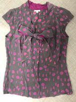 Solar bluzka elegancka z krótkim rękawem rozmiar 36