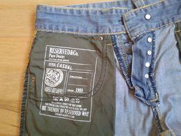 Świetne spodenki jeansowe RESERVED rozm.M