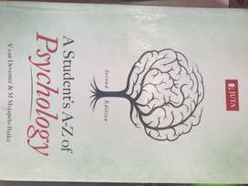 Unisa textbook A student's A-Z of psychology