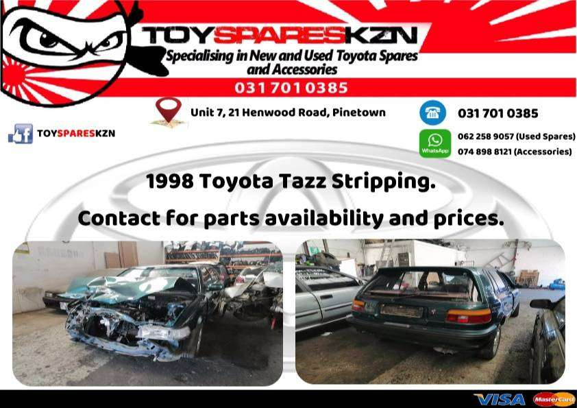Toyota Tazz Stripping 0