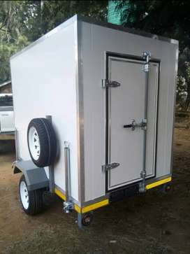 Cash or installment mobile freezer
