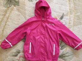 Lupilu мембранная куртка на флисе.6-8 лет +полукомбез.