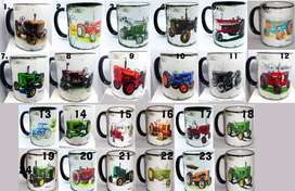 VINTAGE TRACTOR MUGS ON SPECIAL