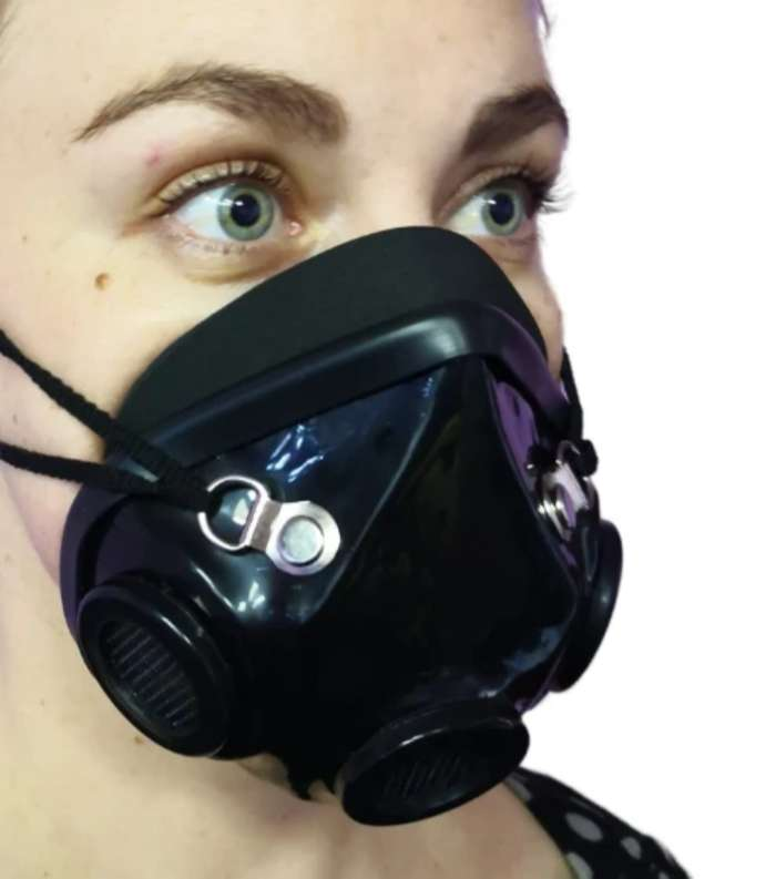 Re-useable 3D Mask-Sanitize on the go 0