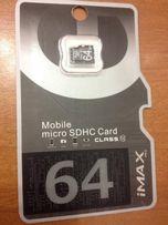Карта памяти micro SD IMAX Pro Объем 64GB