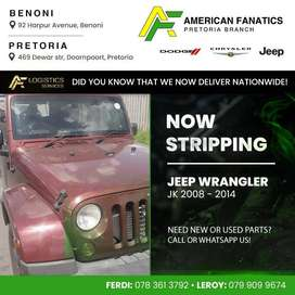 Now breaking Jeep Wrangler 3.8 JK for spare parts!