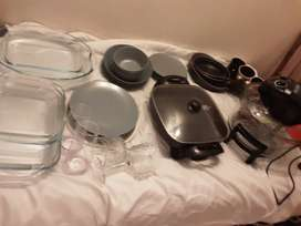 A whole lot of kitchen goodies