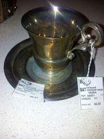 Кофейный набор серебро новое, посеребрянный заварник