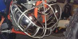 STAINLESS STEEL EXHAUST CAGE