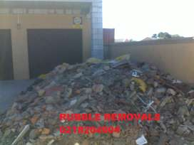 Waste and rubble removals