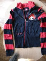 Олимпийка спортивная кофта с капюшоном для девочки 9-11лет(140см)