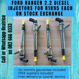 Ford ranger 2.2 injectors for sale
