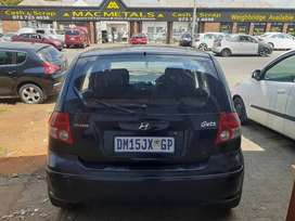 Hyundai getz 1.4 model 2007 black in colour